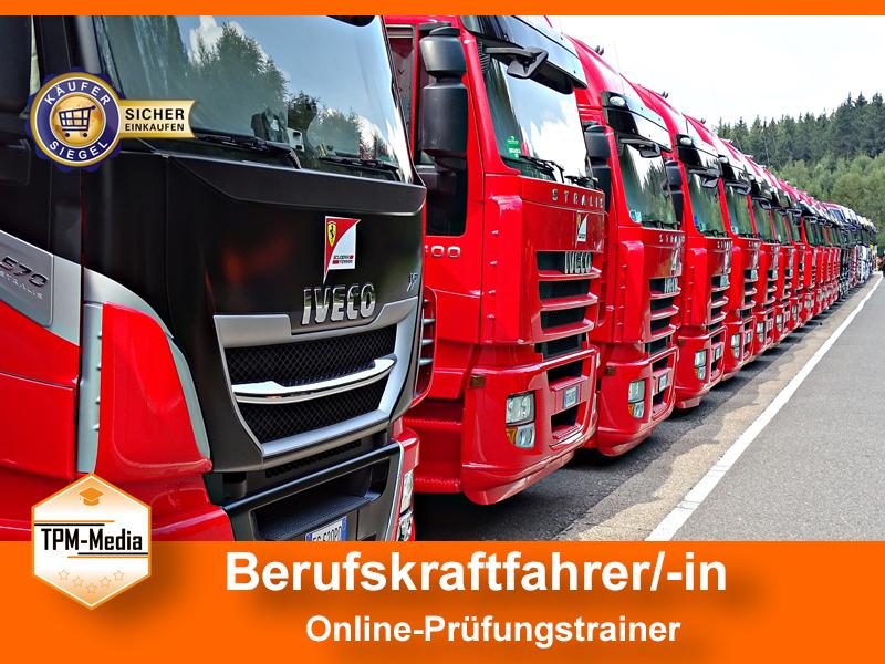 Berufskraftfahrer Online-Prüfungstrainer