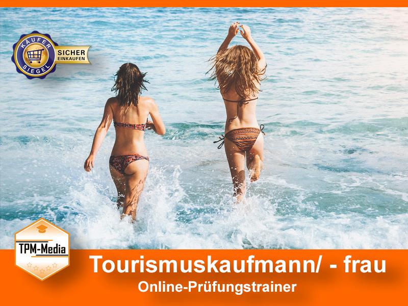 Tourismuskaufmann/-frau Online-Prüfungstrainer