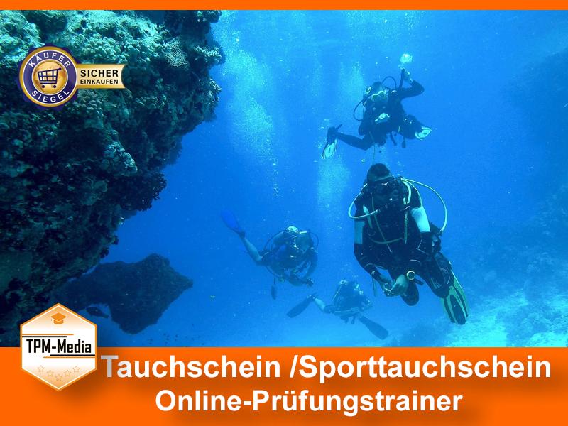 Tauchschein/Sporttauchschein - Online-Trainer