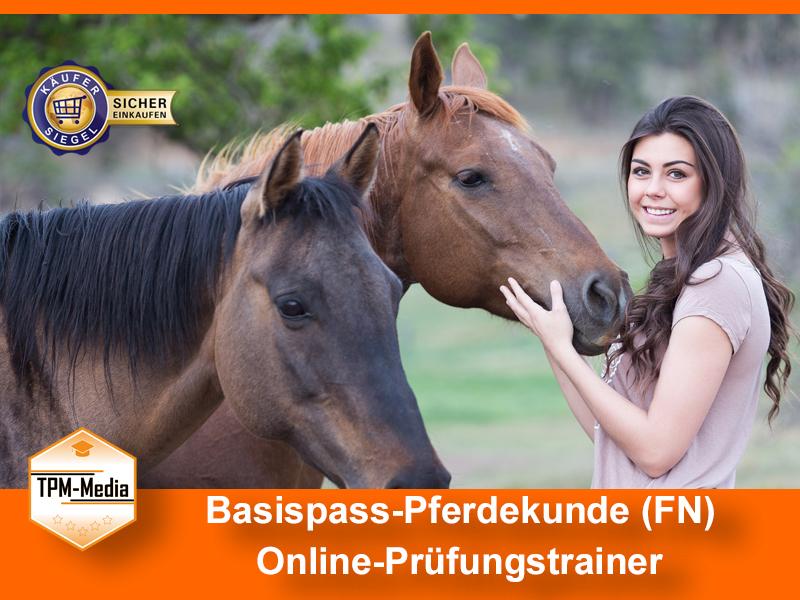 Basispass-Pferdekunde (FN) Online-Prüfungstrainer