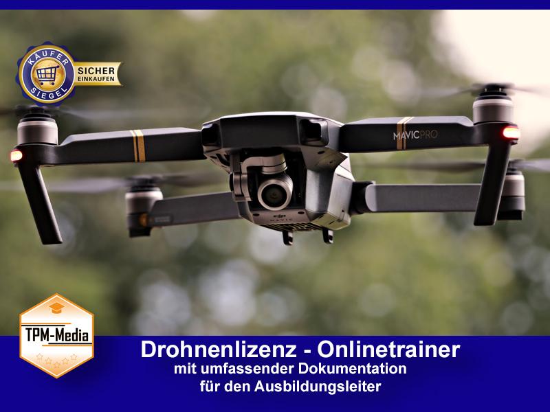 Online-Trainer Drohnenlizenz
